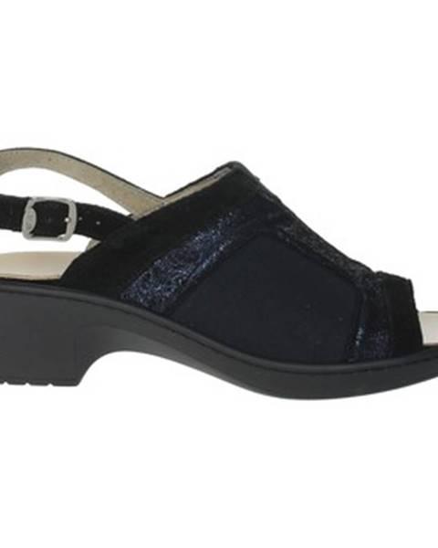 Čierne sandále Scholl