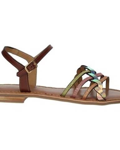 Viacfarebné sandále Nina Capri