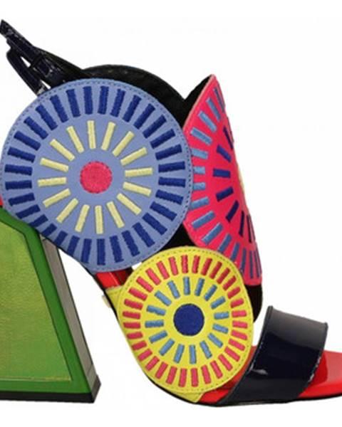Viacfarebné sandále Kat Maconie