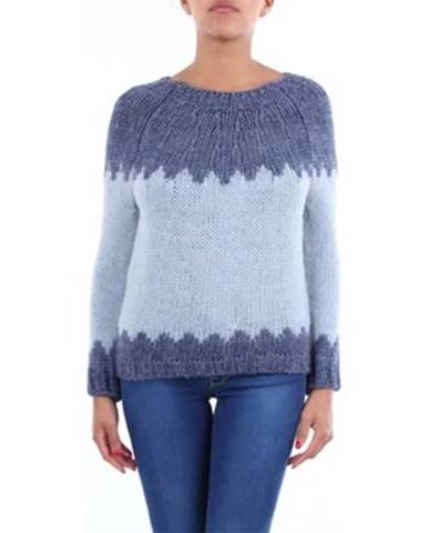 Viacfarebný sveter Crochè