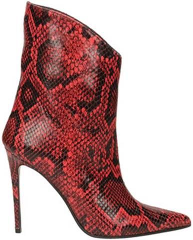 Červené topánky Aldo Castagna