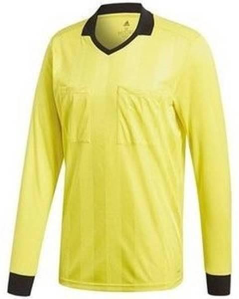 Žlté tričko adidas