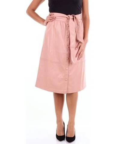 Ružová sukňa Frnch
