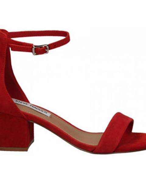Červené sandále Steve Madden