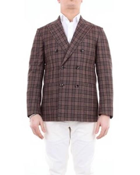 Viacfarebný kabát Sartorio