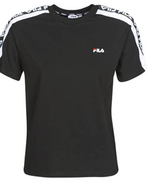 Čierne tričko Fila
