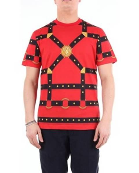 Červené tričko Versace