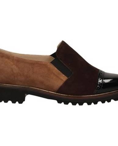 Hnedé topánky Duca Di Rialto