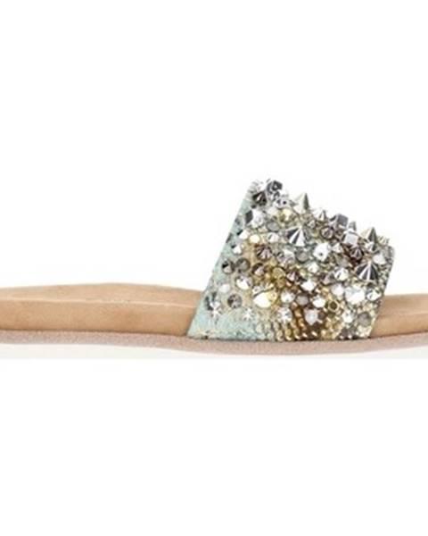 Hnedé sandále Alma En Pena