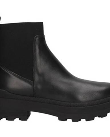 Čierne topánky Janet Sport