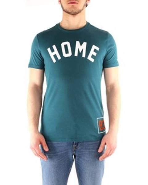 Zelené tričko Penn Rich Woolrich
