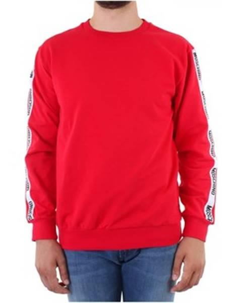 Červená mikina Moschino
