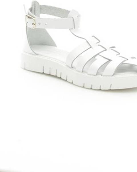 Biele sandále Antichi Romani
