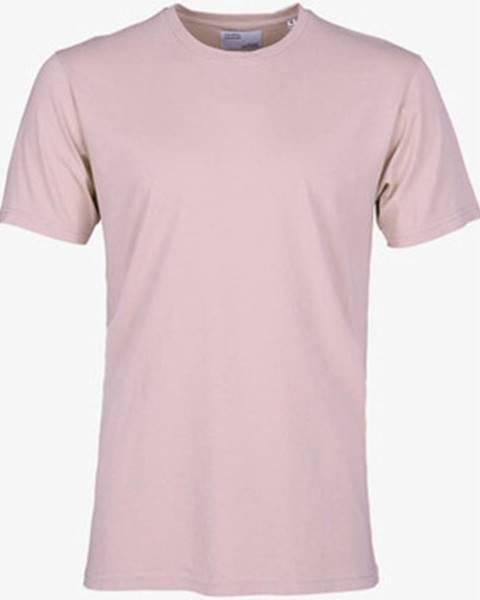 Ružové tričko Colorful Standard