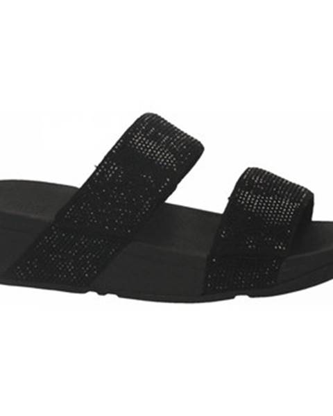 Čierne sandále FitFlop