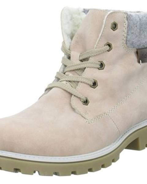 Ružové topánky Rieker