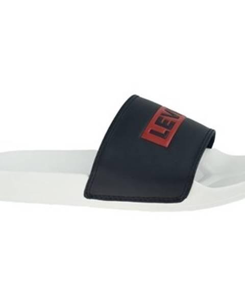 Čierne sandále Levis