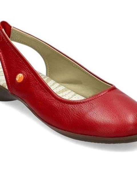 Červené topánky Softinos