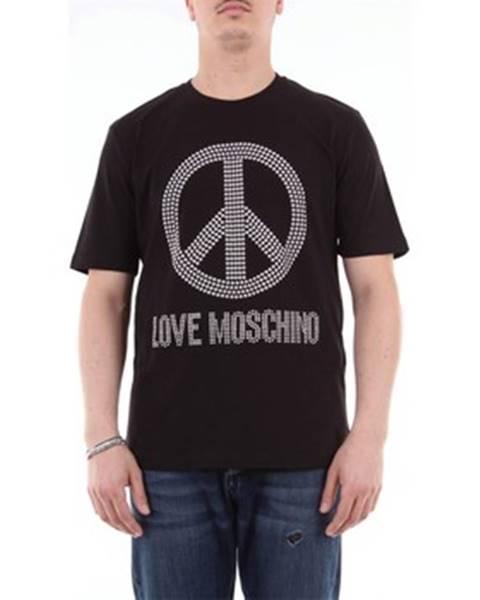 Čierne tričko Love Moschino