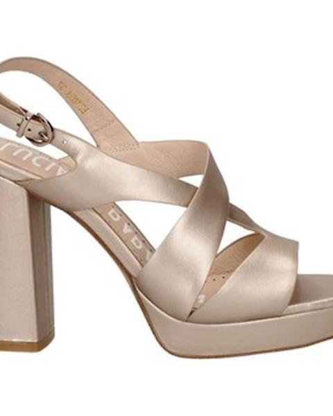 Ružové sandále Oggi By Luciano Barachini