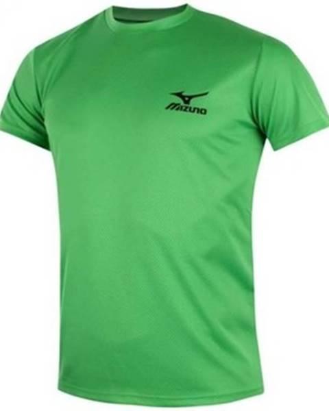 Zelené tričko Mizuno