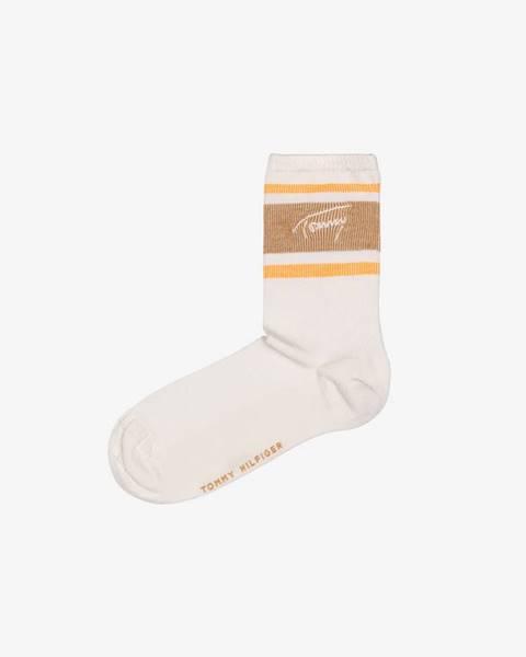 Béžové ponožky Tommy Hilfiger