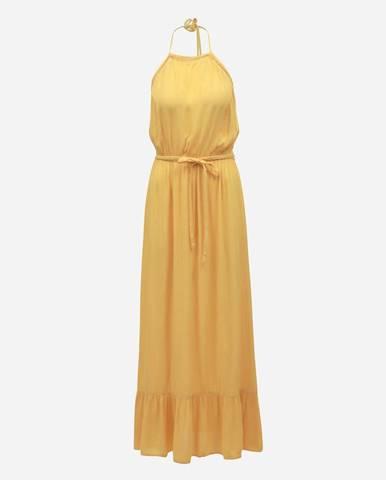 Žlté maxišaty Miss Selfridge