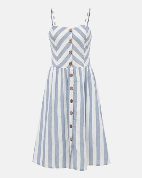 Modré šaty Haily´s