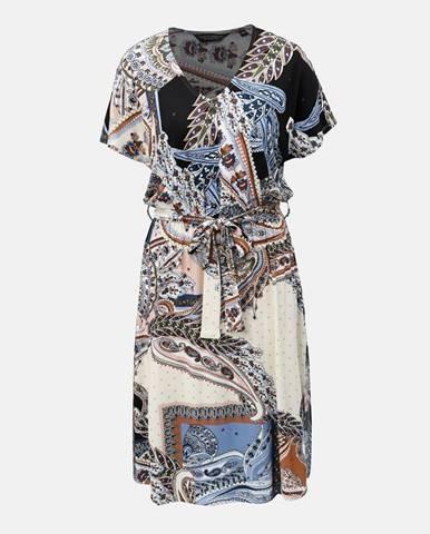 Krémové šaty Dorothy Perkins