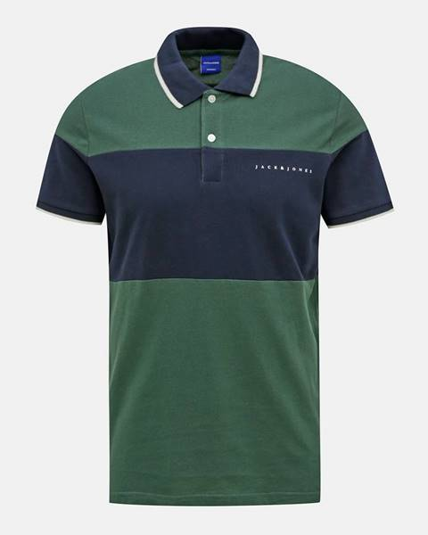 Zelená košeľa Jack & Jones