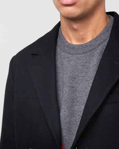 Čierna bunda AMI Alexandre Mattiussi