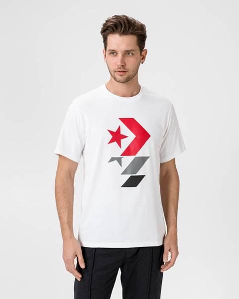 Biele tričko Converse