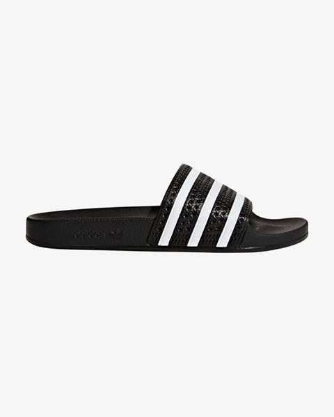 Čierne sandále adidas Originals