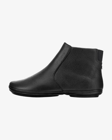 Čierne členková obuv Camper