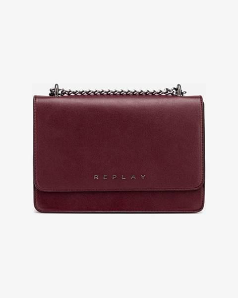 Červená kabelka Replay
