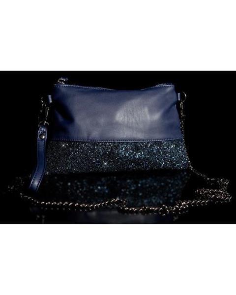 Dámska štýlová kabelka Farba Tmavomodrá značky IN-STYLE 5894a20abd7