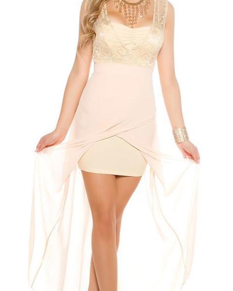 Dámske večerné šaty KouCla s vlečkou značky KOUCLA d50760566cb