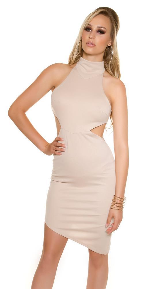 Dámske asymetrické mini šaty značky KOUCLA 19023342be1