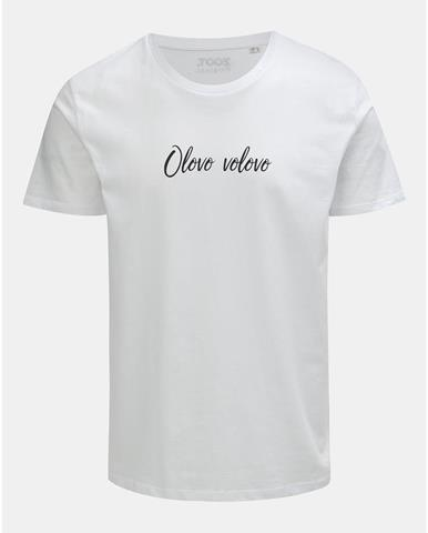 Biele pánske tričko s potlačou ZOOT Original Olovo volovo 739401116e1