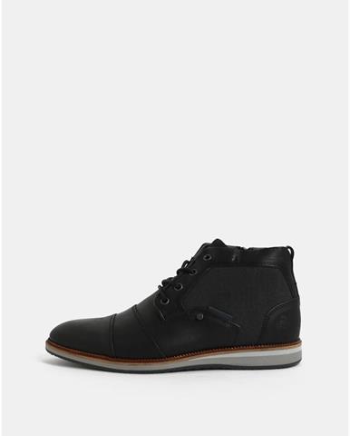31de2ad073 ZĽAVA 30% na Hnedé pánske kožené chelsea topánky Salvatore značky ...