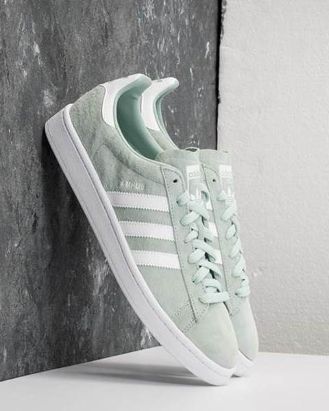 new product 6fb93 54af3 adidas Campus Ash Green Ftw White Ftw White