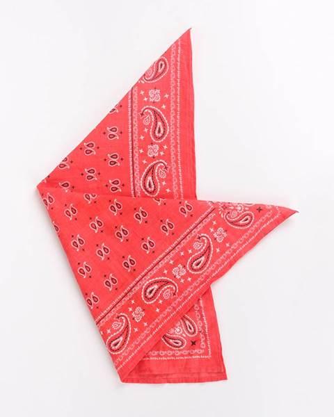Šatka Sciarpa Tessuta Červená značky TERRANOVA ab84bfa3417