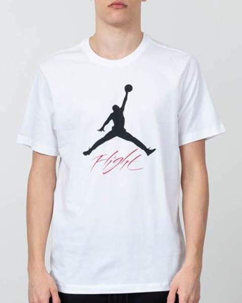 Air Jumpman Flight Tee White  Black značky JORDAN 912236785e4