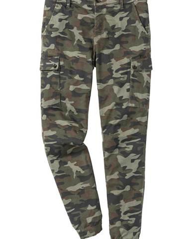 d2c68802a0b0 Strečové kapsáčové nohavice Slim Fit