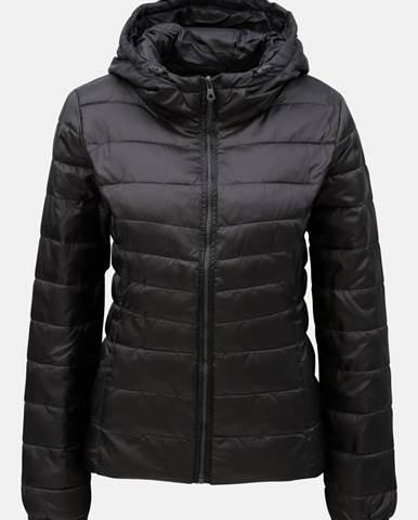 Čierna prešívaná tenká bunda Tahoe 7ffeeba3cba