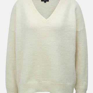a44c36b4bd3c ZĽAVA 70% na Krémový sveter s prímesou vlny Flivana značky SELECTED ...