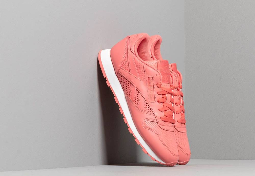 Reebok Classic Reebok Classic Leather W Rose/ White