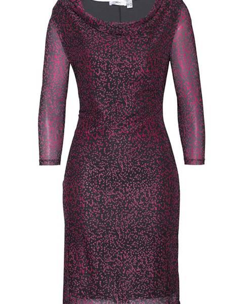 0f668ce0fa1c3 Sieťované šaty s potlačou značky BPC SELECTION