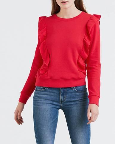 Mikina LEVI'S Jolie Sweatshirt Chinese Red Červená