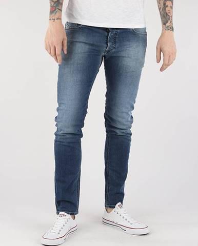 Džínsy  Sleenker L.32 Pantaloni Modrá